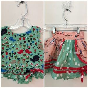 Girl's Jelly the Pug Skirt & Top Set - Size 4